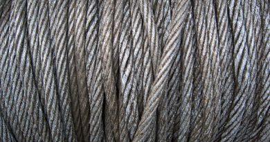 Bęben kablowy z kablem metalowym