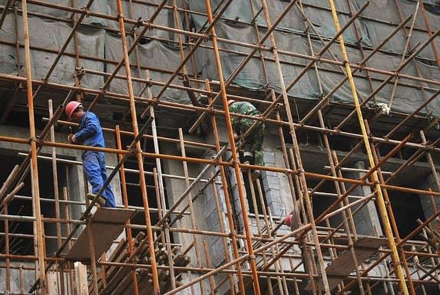 rusztowanie, sprzet-budowlany, budowa